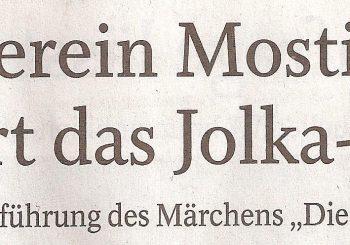 Verein Mostik feiert das Jolka-Fest